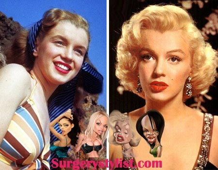 Marilyn Monroe Plastic Surgery Pictures